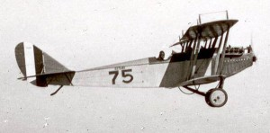 Col. C. J. Tippett owned a Curtiss JN4