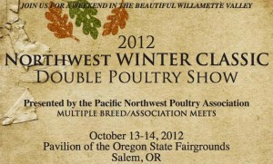 Pacific Northwest Poultry Association Winter Show 2012