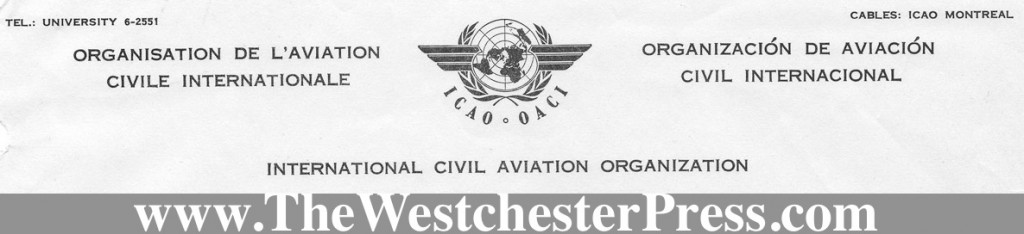 Col. C. J. Tippett and the International Civil Aviation Organization