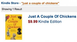 just a couple of chickens on kindle